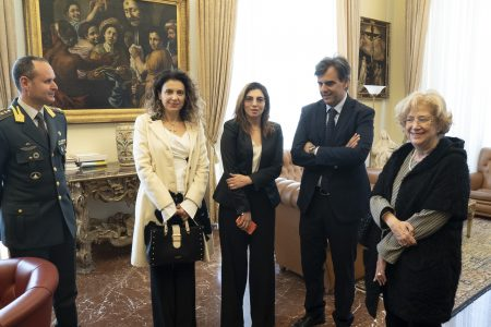 Messina: Il Vice Ministro all'Economia On. Laura Castelli in visita all'Ateneo