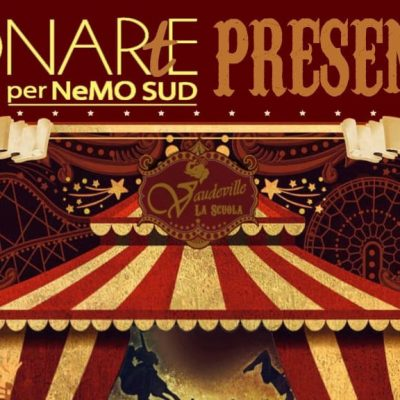 "DONARtE: sabato 21 settembre all'Arena Cicciò ""The Greatest Show Ever"""