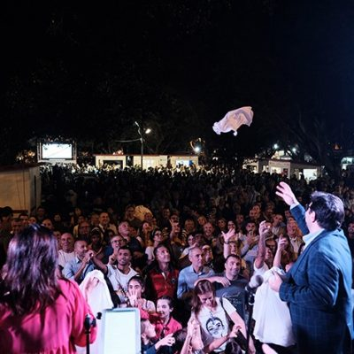 MESSINA STREET FOOD FEST, 100MILA PERSONE IN PIAZZA. E' RECORD