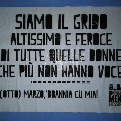 Tre femminicidi in Sicilia in sole 48 ore. I manifesti anti violenza in città