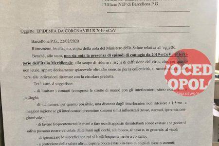 Il Tribunale di Barcellona dispone misure anticontagio