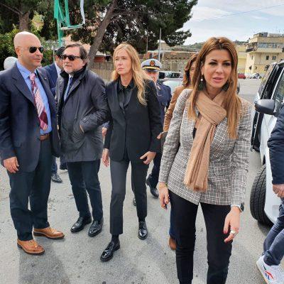 """BARACCHE – Matilde Siracusano: """"Era necessaria questa visita perché si vedano fatti e non più solo parole"""""""