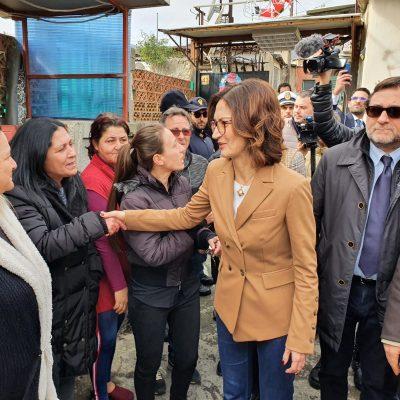 """BARACCHE – Maria Stella Gelmini, dalle foto alla realtà: """"Il Governo dichiari stato di emergenza e Commissario. C'è bisogno di riaccendere fiducia e speranza"""""""