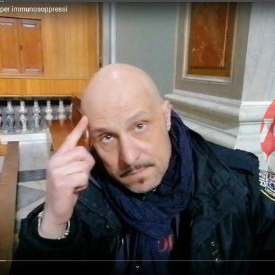 "VIDEO – Precauzioni contagio: Gaetano Alessandro ""Mancano mascherine ed igienizzanti per immunodepressi"" Intervenga l'ASP"