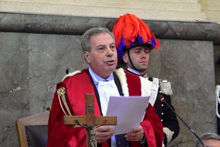 Anno giudiziario: l'amarezza del presidente Galluccio.  Messina trascurata dalla pianta organica, nonostante i risultati