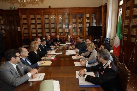 Comitato Provinciale per l'ordine e la sicurezza pubblica sulla movida: più prevenzione e controlli.