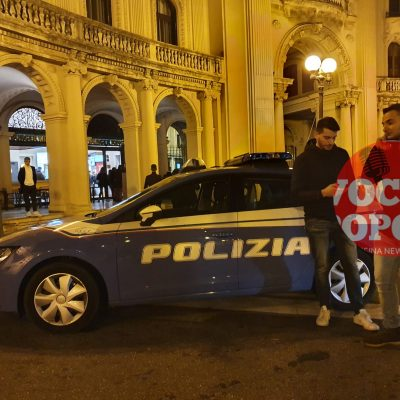 Piazza Antonello: Minore picchiato a sangue. Interviene la Polizia di Stato