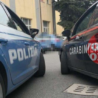 Viale Giostra : stavano svaligiando alcuni negozi, 2 ladri arrestati con l'intervento simultaneo di Polizia e Carabinieri