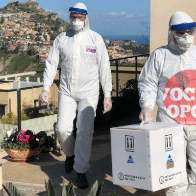 Coronavirus : tampone effettuato in provincia di Messina.