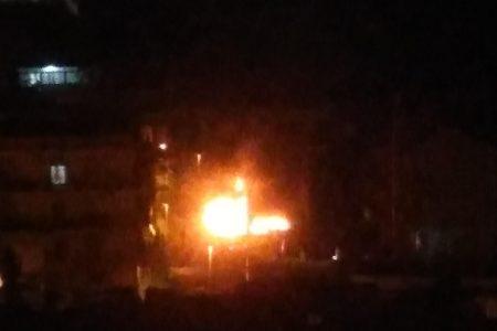 Bombola di gas esplode a Santo Stefano c.da Barna. Un uomo ustionato