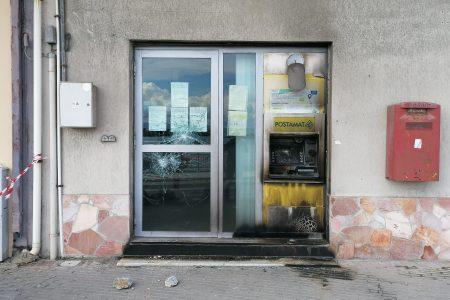 Bomba al bancomat delle Poste di Ganzirri