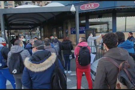 """Marittimi dello Stretto in stato di agitazione: sindacati """"due positivi e 30 in attesa di tampone"""""""