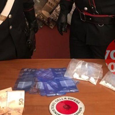 Messina, Villaggio Aldisio:nascondeva cocaina nella propria abitazione, arrestato dai Carabinieri.
