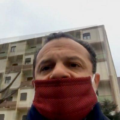 """La """"guerra"""" di Cateno contro lo Stato: """"occupo l'Hotel Europa! Ai comuni di residenza questa gente"""""""