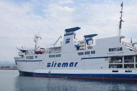 Milazzo: passeggero da Salina con febbre a bordo della Nave Lippi. Personale a bordo.