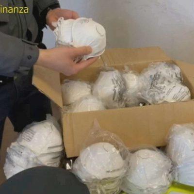 Milazzo: sequestrate 250 mascherine non conformi a negozio cinese, dalla Guardia di Finanza e Polizia Locale