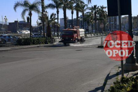 Milazzo: Prosegue la sanificazione del territorio comunale