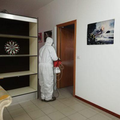 Villafranca Tirrena: sanificati tutti i locali pubblici, compresi quelli dei Vigili del Fuoco