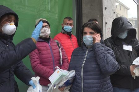PENSIONATO: sono uscite stamattina le cinque volontarie di Messina Social City. Adesso in quarantena