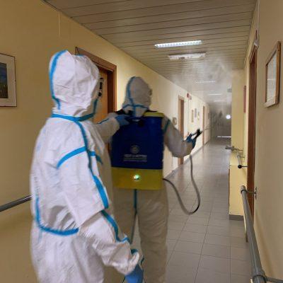 """Coronavirus: l'Esercito igienizza gli istituti assistenziali e interviene nelle Zone """"Rosse"""""""