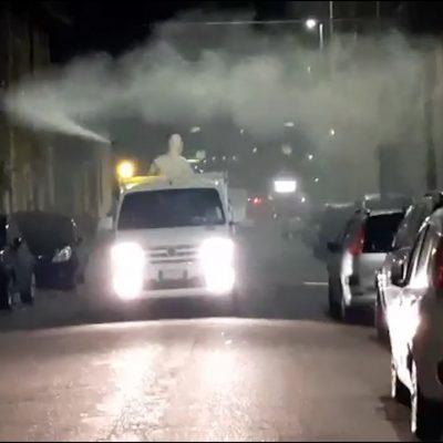 Covid 19: Messinaservizi Bene Comune al via terzo ciclo sanificazione e disinfezione in città con tecnica nebulizzazione