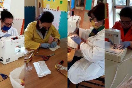 Covid 19: Messina Social City converte il laboratorio di sartoria sociale, operatrici migranti realizzano mascherine per i cittadini.