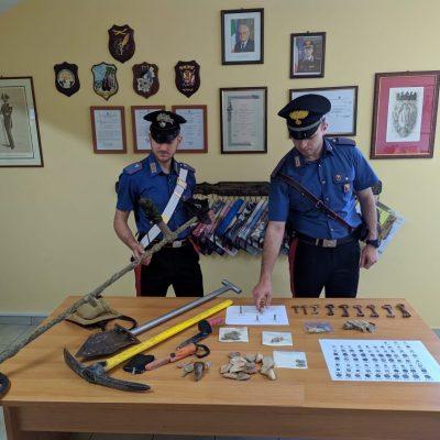 Cesaro` (ME): i Carabinieri denunciano una persona per reati in danno del patrimonio culturale.