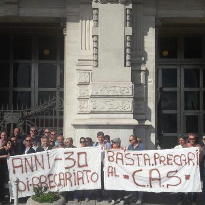 """Consorzio CAS, gli ex esattori sul piede di guerra: """"Siamo alla fame, questa estate fateci lavorare"""""""
