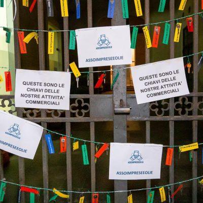 AssoimpreseEolie: consegnate al Comune di Lipari le chiavi di tutte le attività imprenditoriali
