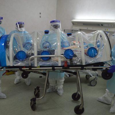 Messina – Formato un team Covid-19 del 118 dedicato al trattamento e trasporto trasferimento pazienti altamente infetti