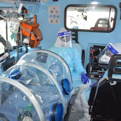 Donna incinta affetta da Covid trasferita da Londra in Sicilia, sacche di plasma per salvarla