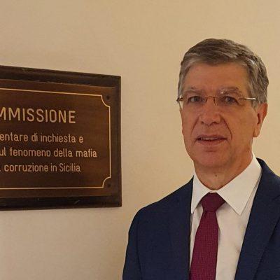 Franco De Domenico PD in Commissione Parlamentare di inchiesta sul fenomeno mafioso e sulla corruzione in Sicilia