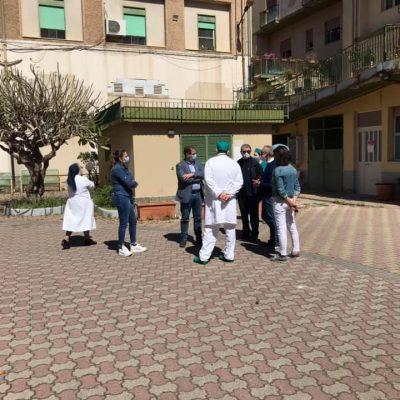 Visita del Direttore Generale dell'ASP di Messina all'IPAB Collereale di Messina