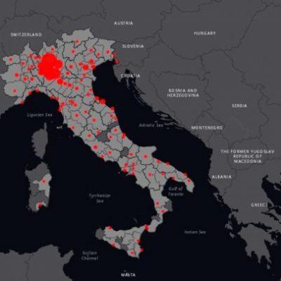 Coronavirus: il dettaglio dei contagiati città per città aggiornato al 6 maggio. Messina è seconda in Sicilia, dopo Catania.