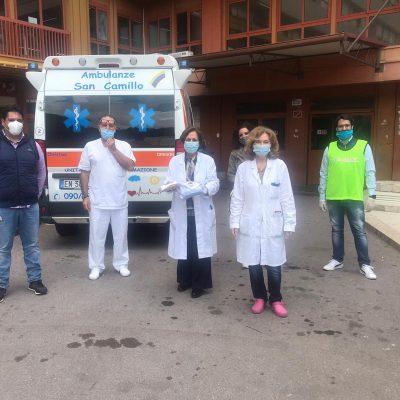 Comitato Messina Nord: donazioni mascherine reparto pediatria ospedale papardo