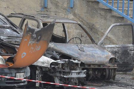 Polizia Municipale – Pala Rescifina: incendiate 5 auto in custodia. Vile atto intimidatorio.