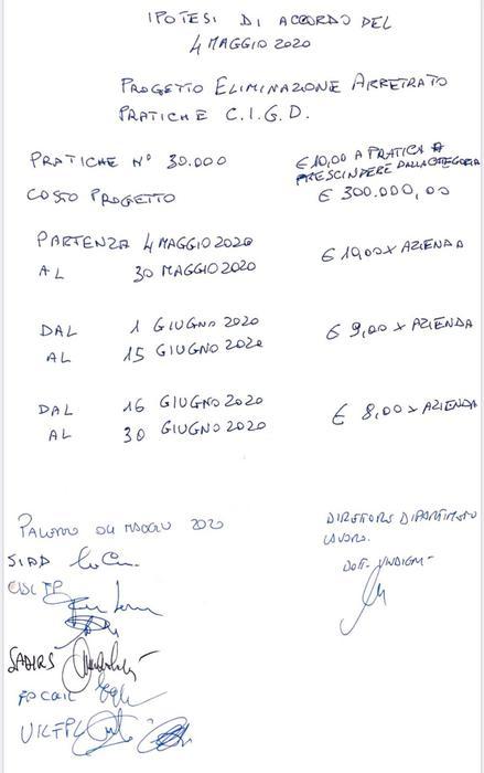 """Regione Sicilia- Cassa integrazione, cade la prima testa: è quella del dirigente dell'assessorato del lavoro. Il """"pizzino"""" e quei 10 euro a pratica"""