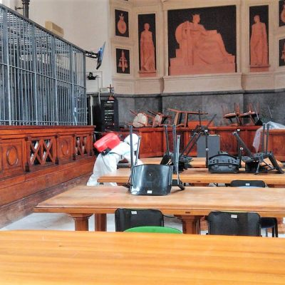Tribunale di Messina: con decreto n. 21 dispone dal 12 maggio l'uso obbligatorio  di mascherina e dpi
