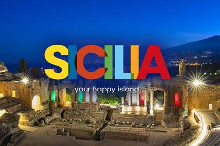"""""""SICILIA: YOUR HAPPY ISLAND"""": nuovo logo e slogan per lanciare la Sicilia """"Covid free"""""""