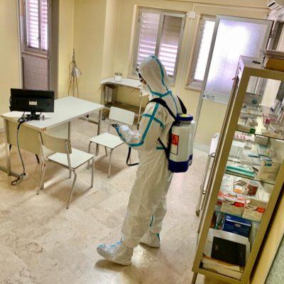 L'Esercito sanifica le scuole in Sicilia