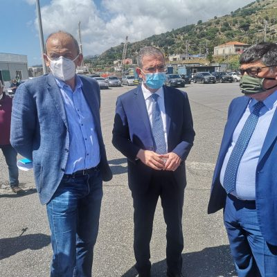 """Tremestieri: l'assessore regionale Falcone """"14 mesi per il nuovo porto. Urgente dare risposte agli autotrasportatori"""""""