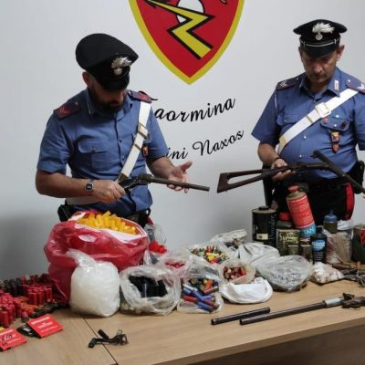 Arrestato 67enne per detenzione illecita di armi artigianali e munizioni