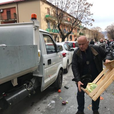 """Aggressione al commissario Giardina, l'Amministrazione: """"Solidarietà. Tutto ripreso da bodycam"""""""