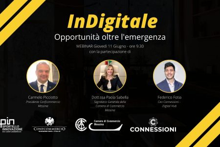 Confcommercio Messina punta sul digitale. Voucher e sportello innovativo per superare la crisi.