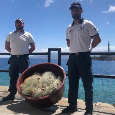 La Guardia Costiera sequestra rete illegale