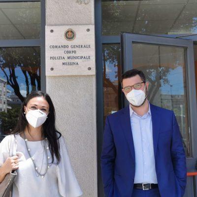 Messina, il M5s dona 1500 mascherine alla Polizia Municipale