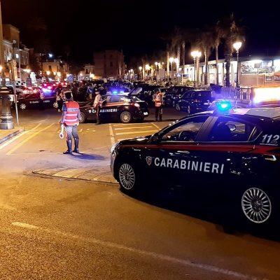 Movida Milazzo – Controlli dei carabinieri. 8 persone denunciate