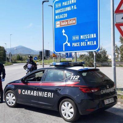 Si rifugia dai vicini per sfuggire ai maltrattamenti del convivente. Arrestato dai Carabinieri