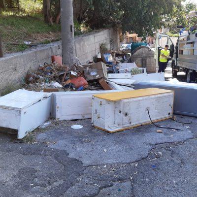 Messina Servizi chiede più controlli su mini discariche di elettrodomestici