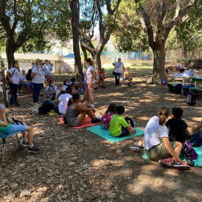 Messinaservizi fa formazione ai bambini del campo estivo di Villa Dante